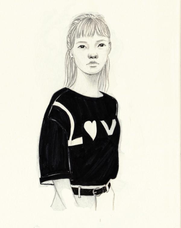LUV - doodle, drawing, sketch, sketchbook - j0eyg1rl | ello