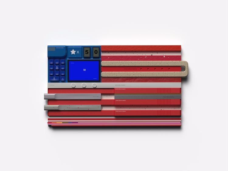 American Interface - art, design - chengtaoyi | ello