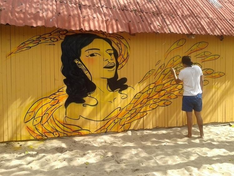 Angel Fova local - Mazunte,, Oaxaca. - erickreyess | ello
