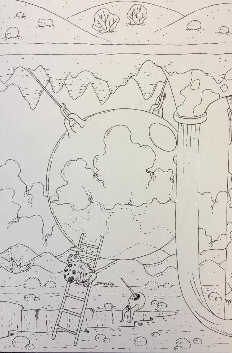 19 nuage / cloud :partly_sunny - jimmy-draws   ello