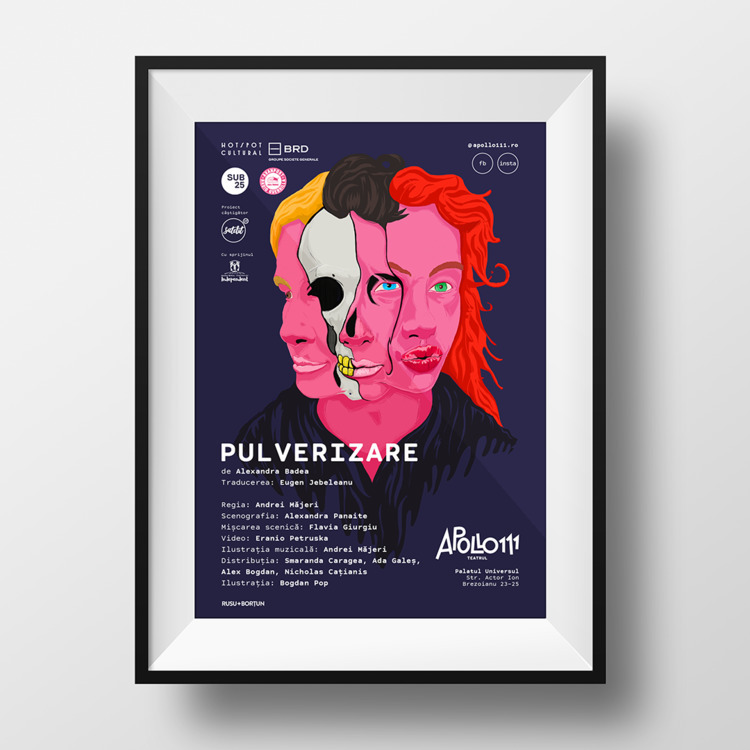 poster - illustration, illustration - inkhale | ello