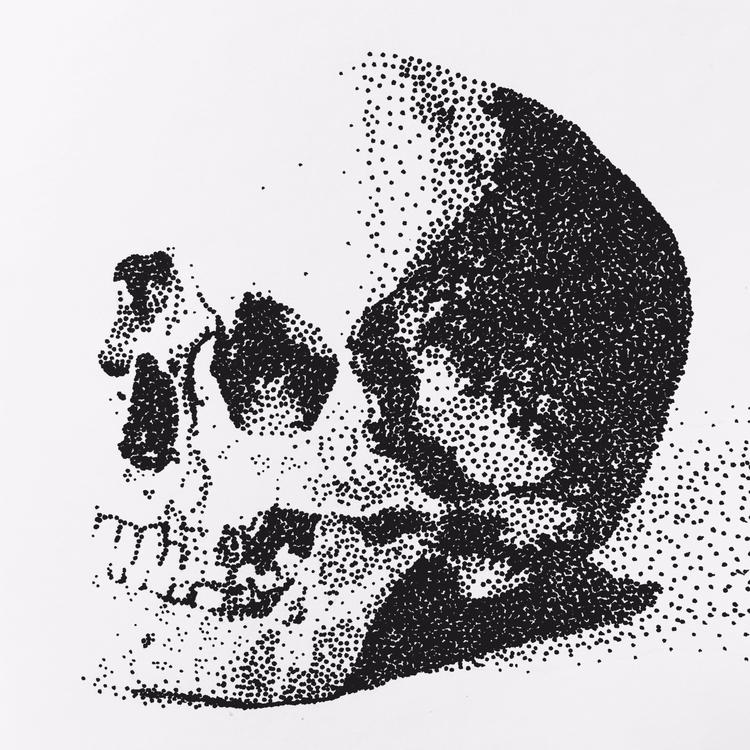 Vanitas, pen ink, 8/10/17 jomar - jomartinusen | ello