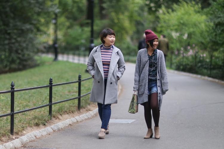 **Central Park** couple women w - kevinrubin | ello