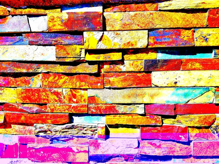 Stone Wall - stone, wall, abstract - sirhowardlee | ello