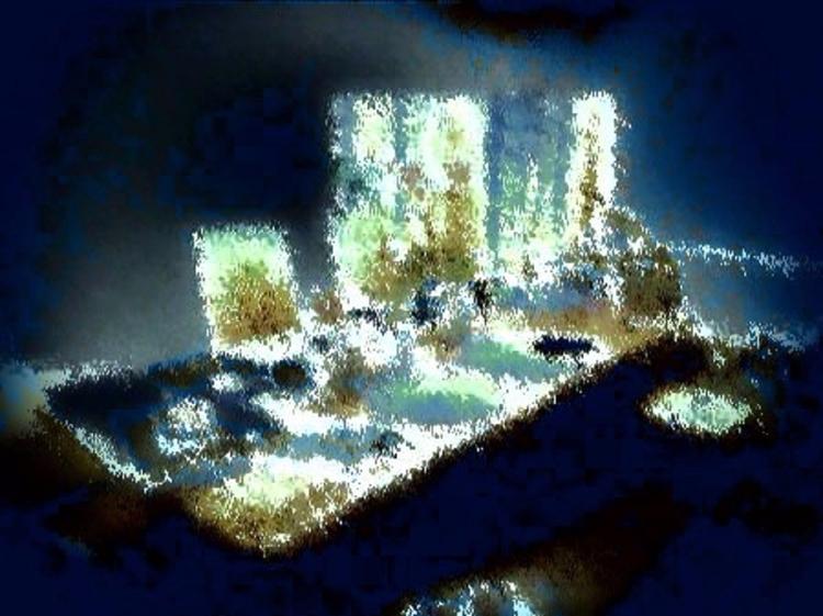 Dining Room Table Ghostly Versi - sirhowardlee | ello