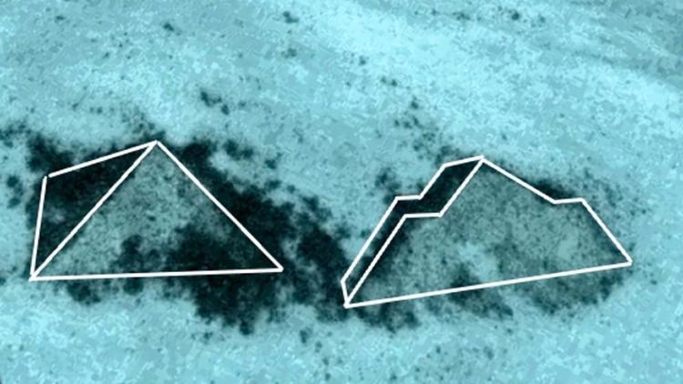 ¿Existen dos Pirámides sumergid - codigooculto   ello