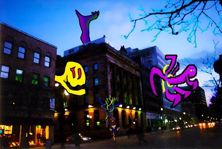 Begins St.Catherine - montreal, downtown - mangekkojones | ello