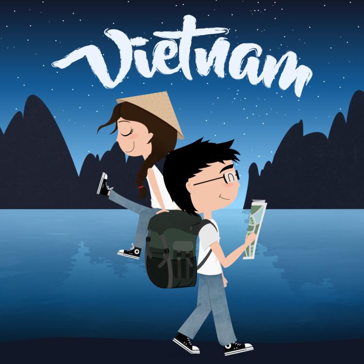 VIETNAM - vietnam, illustration - roserolivella | ello