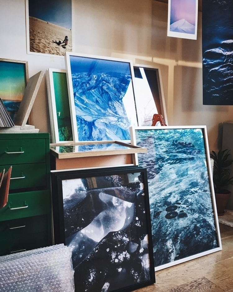 Studio view open studio event!  - palegrain | ello