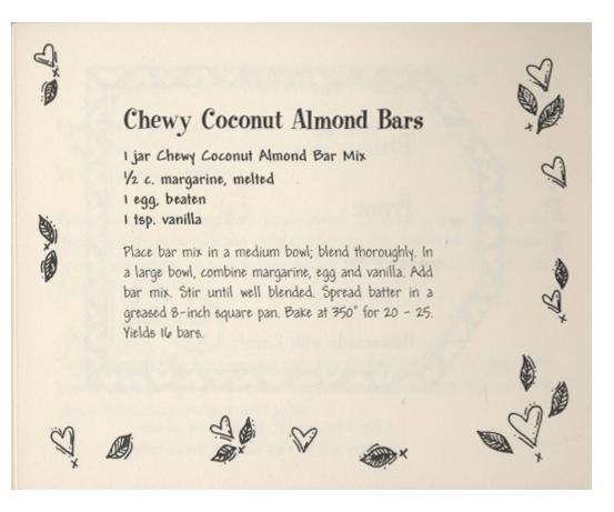 Chewy Coconut Almond Bars - Rec - eudaemonius | ello