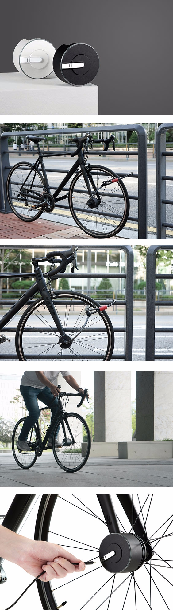 Bisecu smart bike lock brings l - adaptnetwork | ello