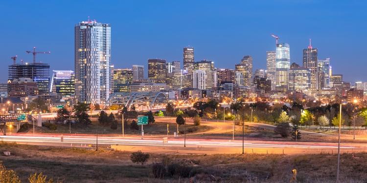 Dusk - Denver, Skyline - cnhphoto   ello