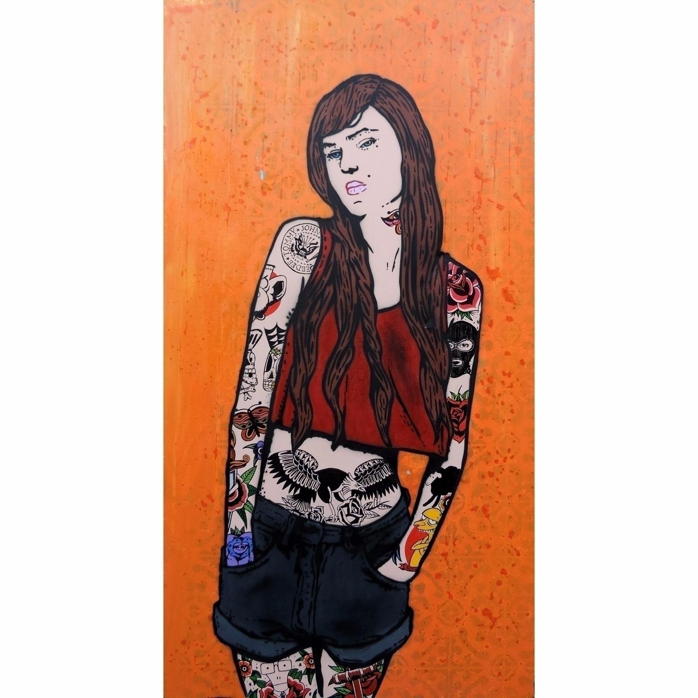 Tattoo Maniac Spray (stencil) a - diogorustoff | ello
