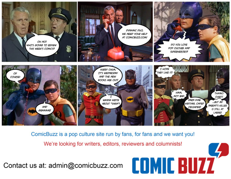 writers, editors, reviewers, columnists - comicbuzz | ello