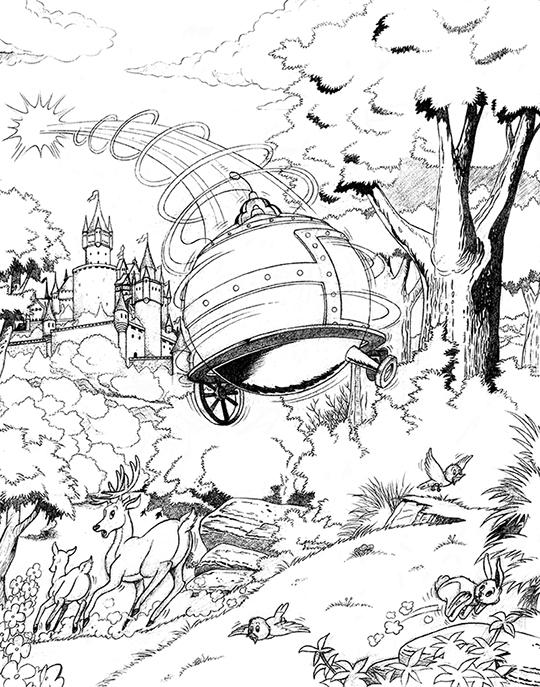 illustration, cartooning, comic - adrien825 | ello