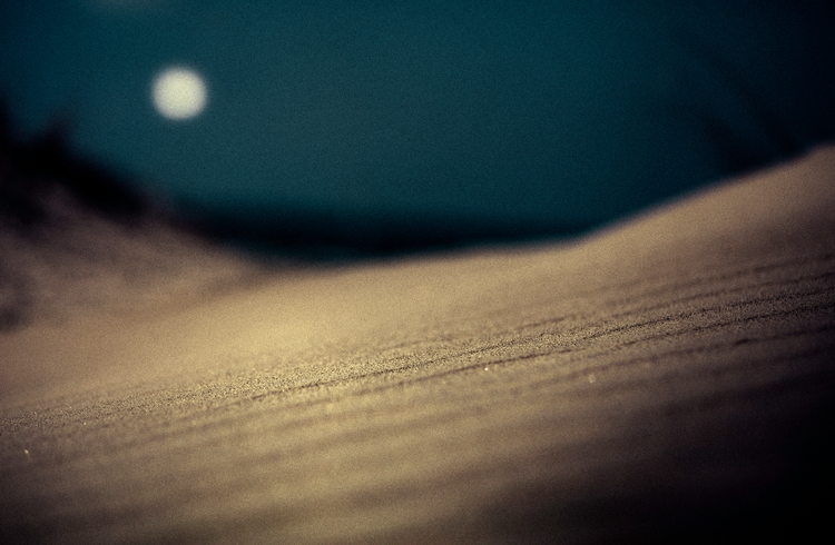 Moonlight sand - photography, mood - elhanans | ello