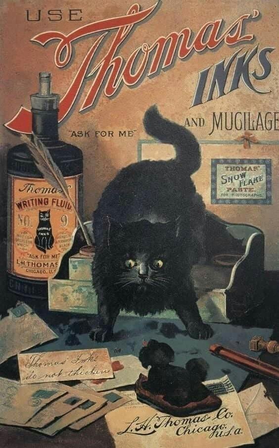 Caturday, VintageAd - robogiggles | ello