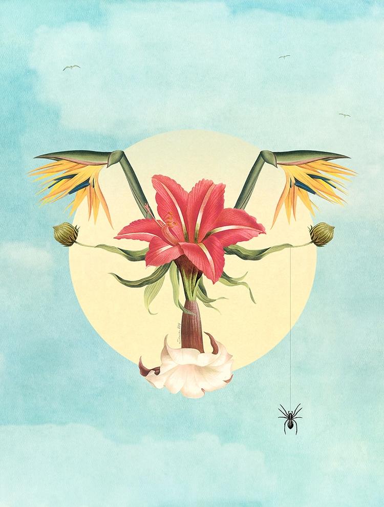 Blossom - personalartwork, feminist - soniaroy | ello