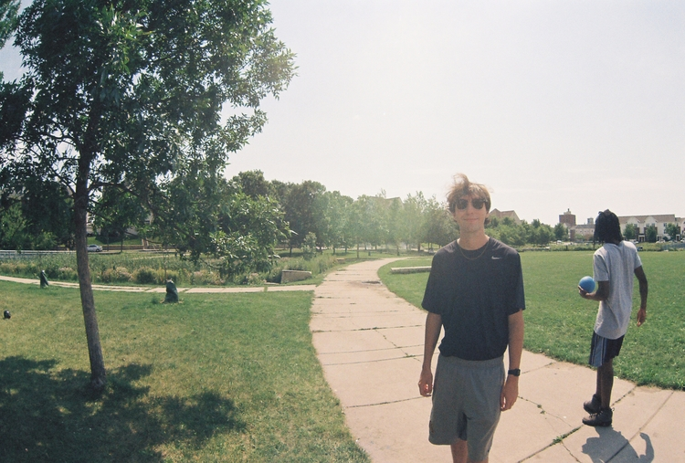 summer, film, fisheye, park, analog - mikeylinehan | ello