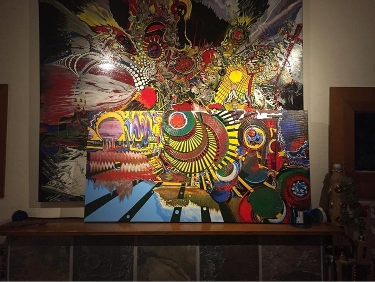 Abstracts Richard Van Vliet Van - vanvlietart   ello