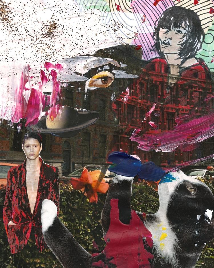 collage, art, illustration - augustbay   ello