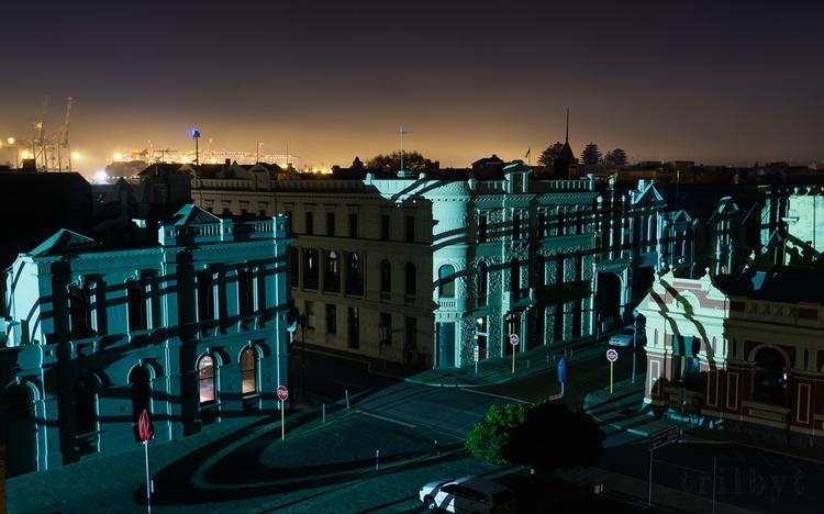 secret art created night street - trilbyt | ello