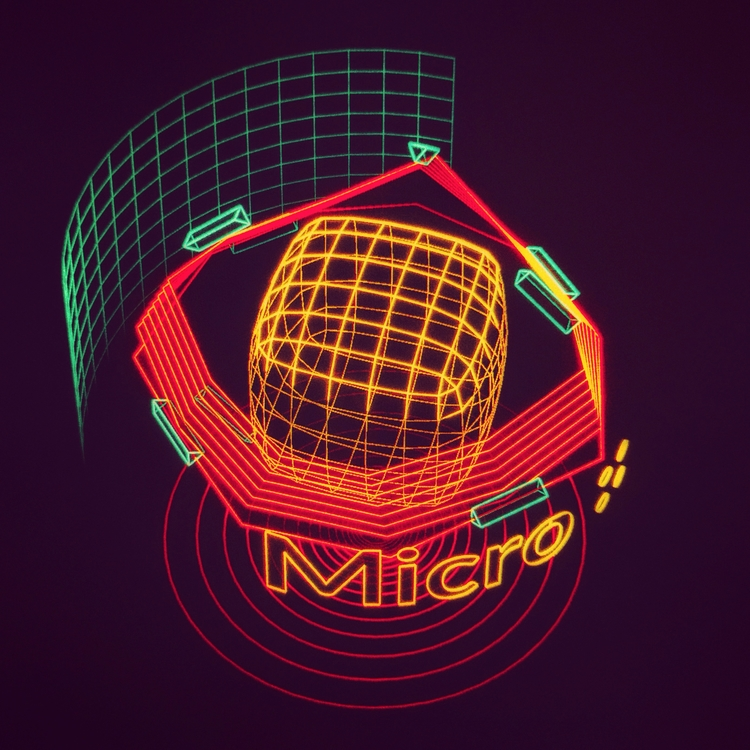 Micro Mechanism  - ui, hologram - mjmurdock | ello