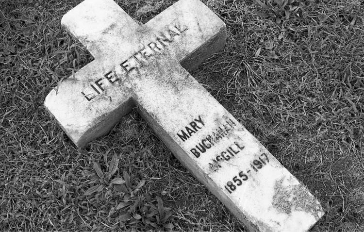faith fear Mt. Olivet Cemetery - flaneurity | ello