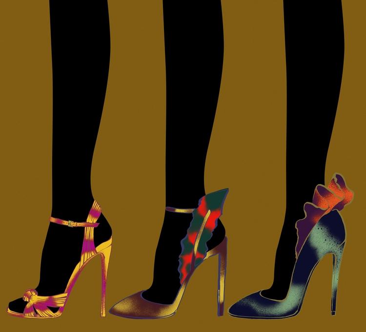 Stilettos - Fashionillustration - eunjeongyoo | ello