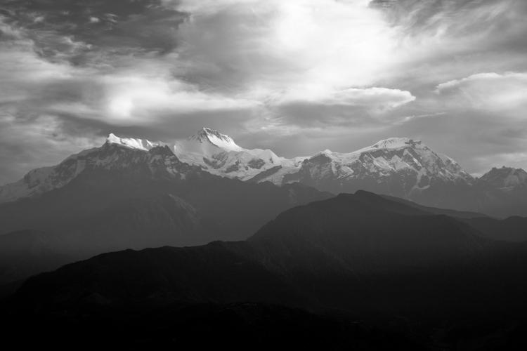 Mountain Series Annapurnas view - alexreigworks | ello