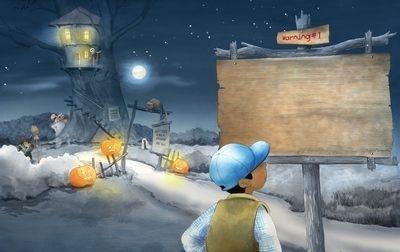 sample illustrations Halloween  - joannapasek | ello