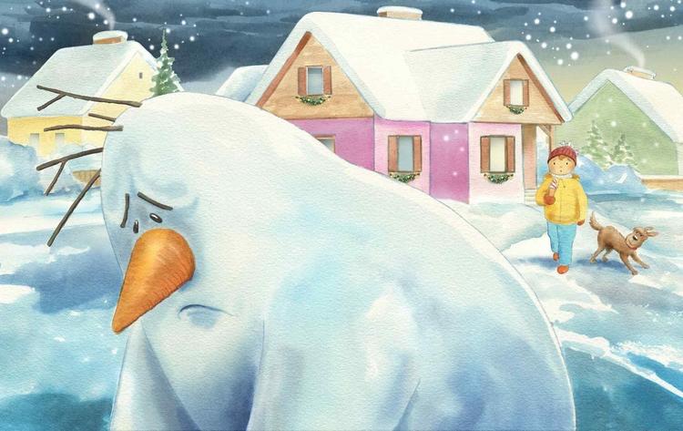 sample illustrations Christmas  - joannapasek | ello