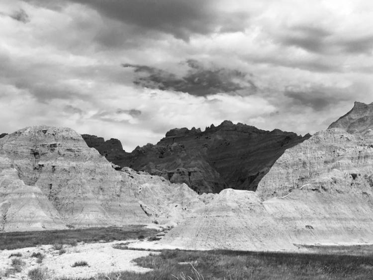 Badlands - SouthDakota, blackandwhitephotography - davidjdeal | ello