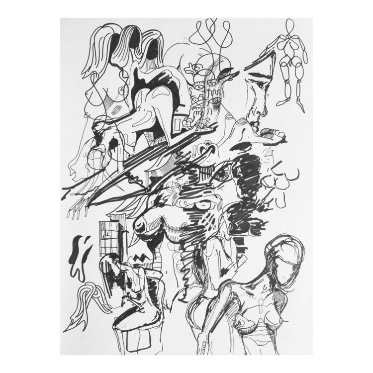 nonstop doodle - johndoodles | ello