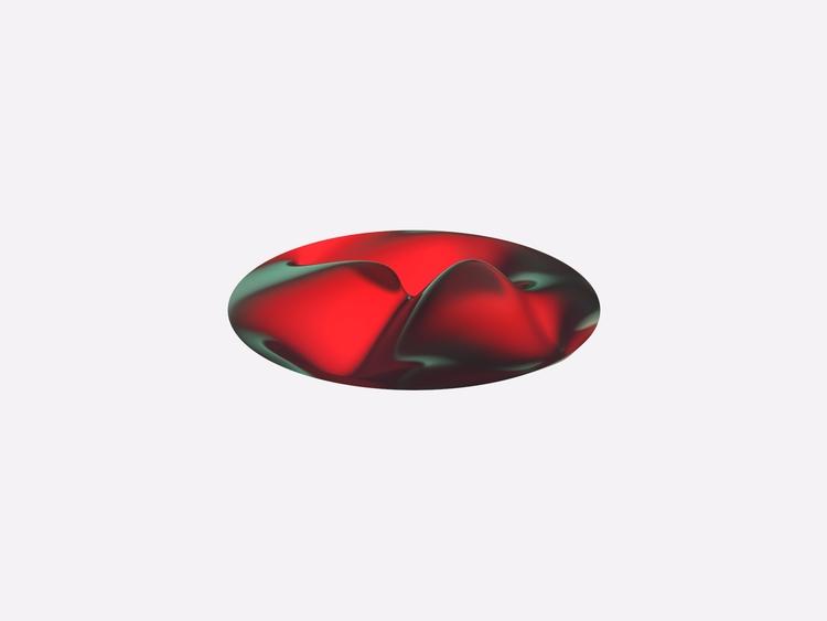 Red - art, design, 3d, sculpture - chengtaoyi | ello