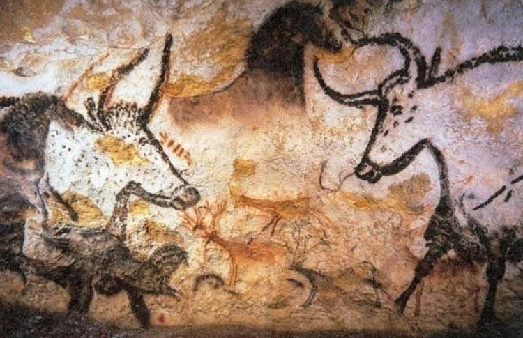 Lascaux cave paintings France - ancientart - bitfactory | ello