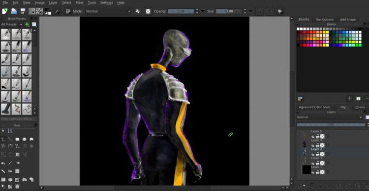 alien, digitalpainting, digitalart - cjburgos | ello