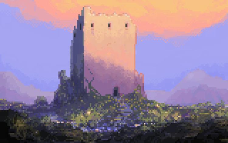 ello pixel art - pixelart, conceptart - lonely_goblin | ello