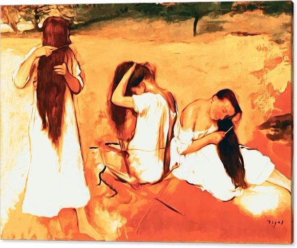 Edgar Degas - Women Combing Hai - pixbreak | ello