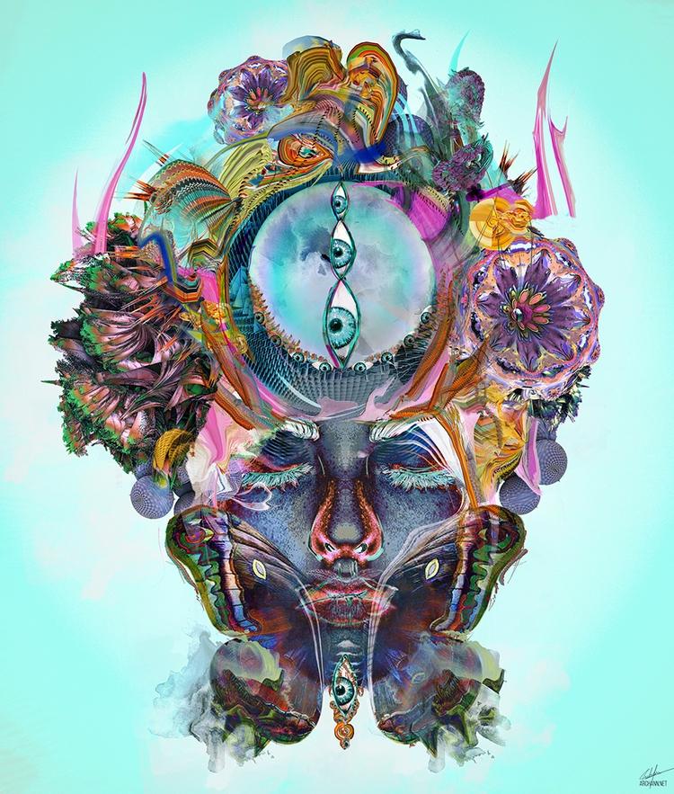 Divergence - art, illustration, digitalart - archannair | ello