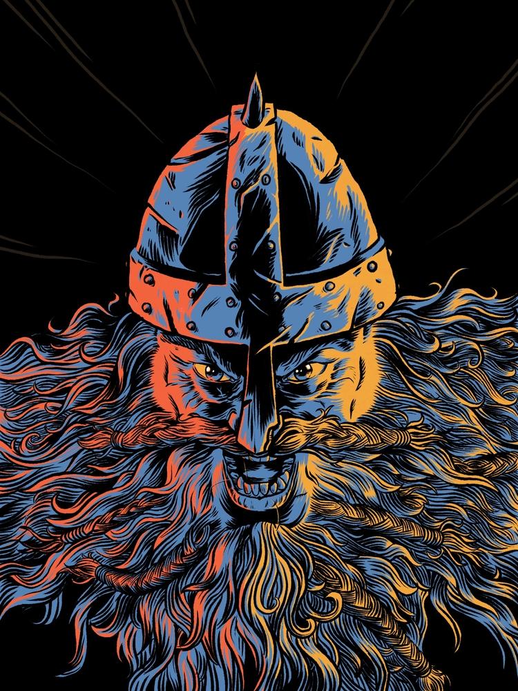 Berserker! Digital - viking, berserker - splendidhand | ello