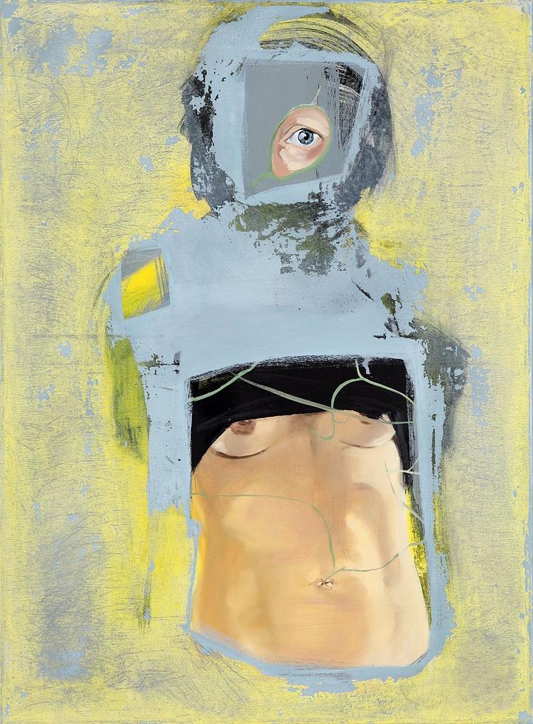 compromise#oil#canvas#70x50 cm - judytakrawczyk | ello