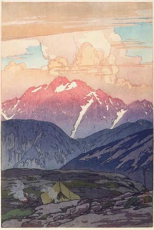 Hiroshi Yoshida: Rain, 1930s - arthurboehm | ello