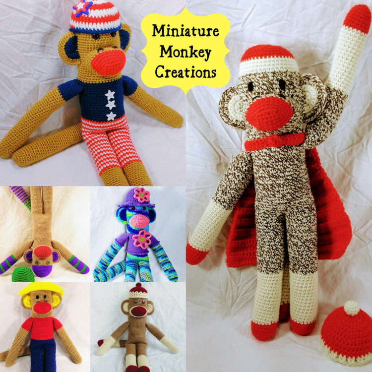Happy great monkeys shop good s - miniaturemonkeycreations | ello