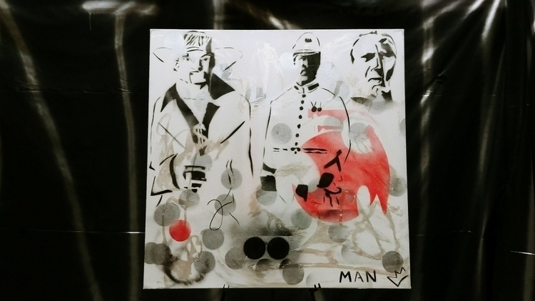 stencil 3 - painting - davidbanner | ello