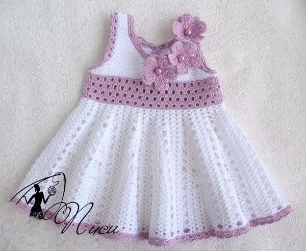 beautiful dress loved simple ch - brunacrochet | ello
