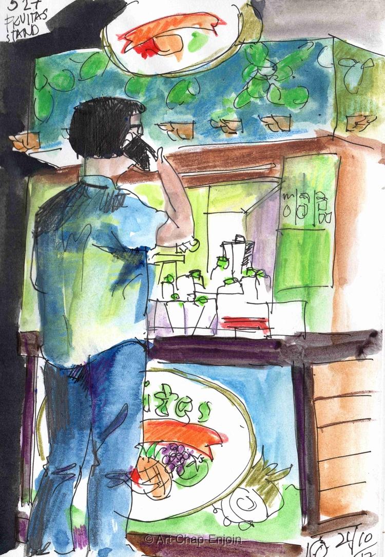 - Fruitas stand drew mall Satur - artchapenjoin | ello