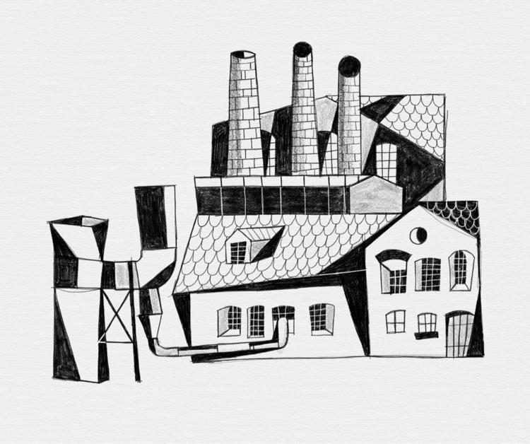 Die Fabrik.  - fabrik, architecture - heiniistgegenalles | ello