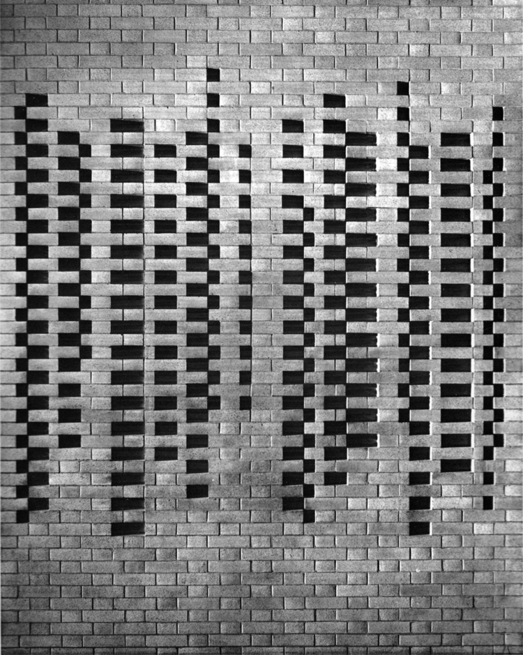 Brick Detail. Josef University - bauhaus-movement | ello