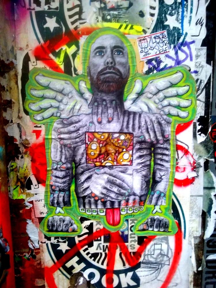 nyc, streetart - zenwheely | ello